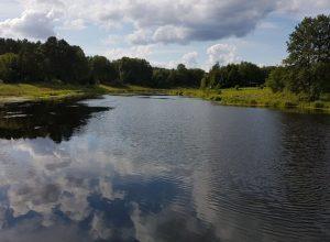 Agroturystyka powiat pilski - rzeka w okolicy - zdjęcie